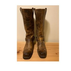 Frye 15R Tall Harness Boot, size 10